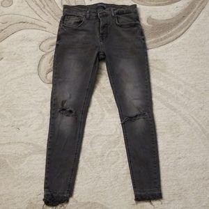 Zara Man Distressed Jeans, sz 26